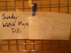 Maya's medication